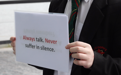 Young people look at the efforts being made to prevent suicide in Derry/Londonderry
